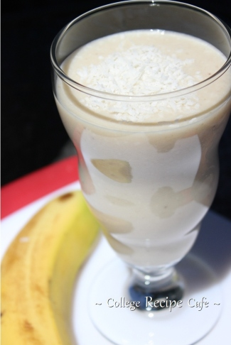 easy college smoothie recipe