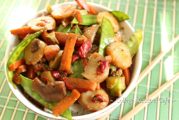 easy college stir fry recipe