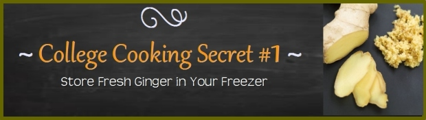 College Cooking Secrets_Ginger