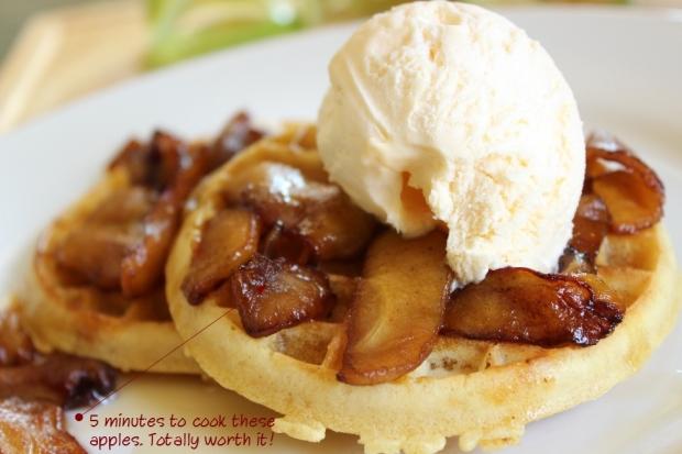 easy frozen waffle recipe