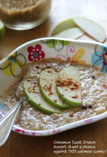 Apple Cinnamon Oatmeal. Easy Breakfast Recipe for #College Students