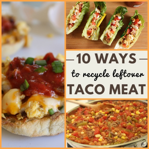 10 Tasty Ways to Recycle Leftover Taco Meat Before it Spoils.