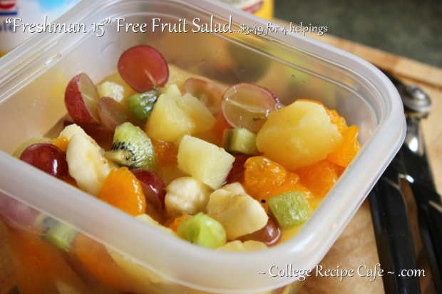 easy to make fruit salad for college students