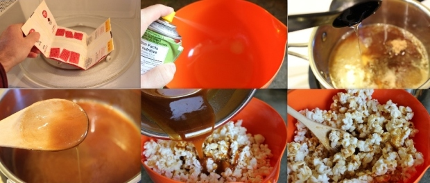 Caramel Candy Popcorn: How to Make