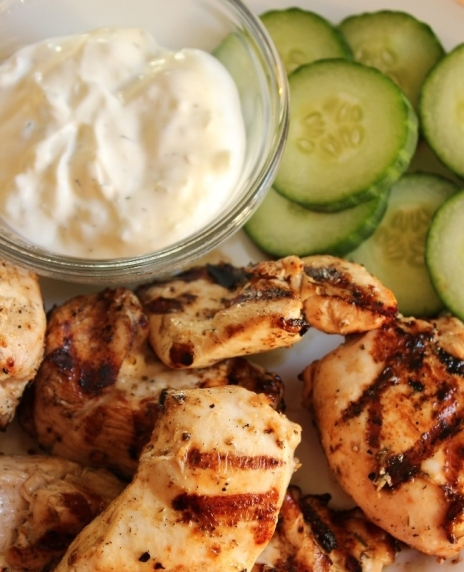 Look in the Fridge Friday: Quick and Easy Athena Grilled Chicken Recipe for Students
