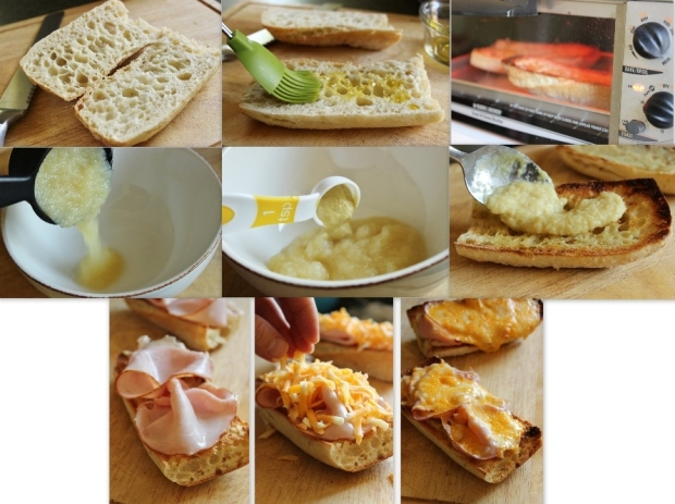 easy hot ham and cheese recipe
