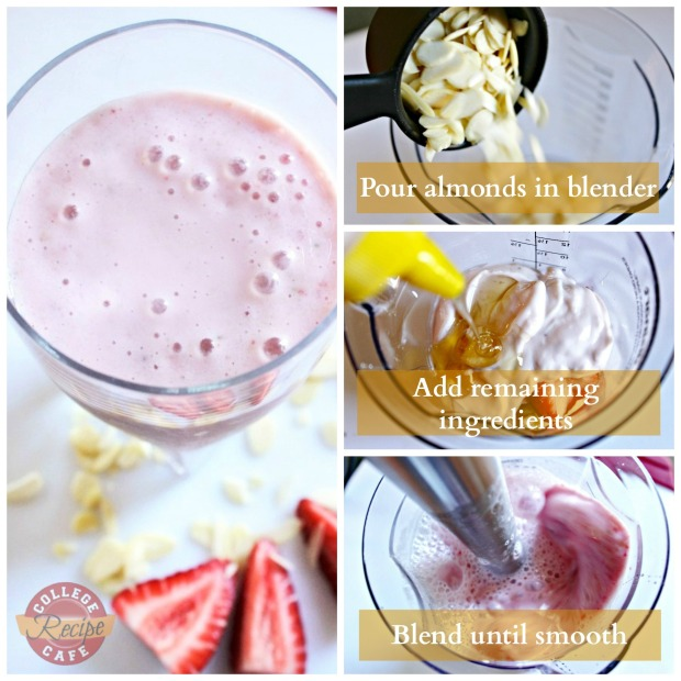 Easy to make Workout Recovery Smoothie