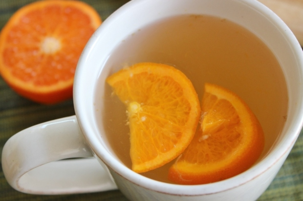 Therapeutic Mandarin Orange Ginger Tea