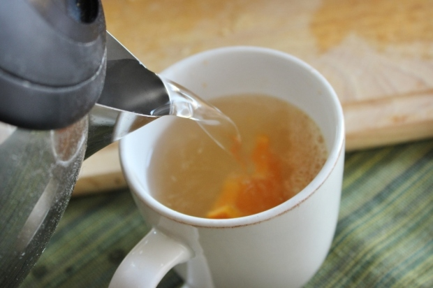 Therapeutic Orange Ginger Tea