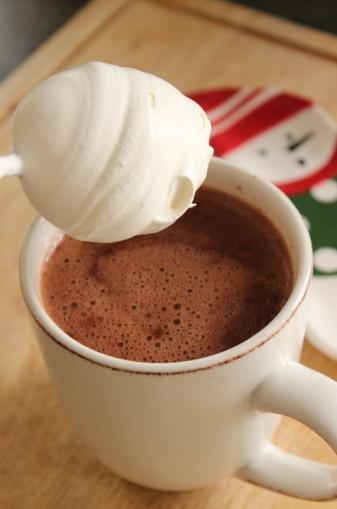 Caramel Cream Hot Chocolate