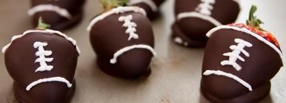 Food that looks like footballs