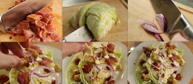Iceberg Wedge Salad ~ How to Make