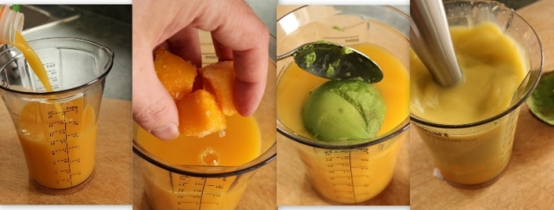 Orange Mango Avocado Smoothie: How To Make