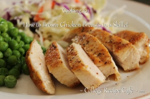 Cooking 101: How to Brown Chicken Breasts in a Skillet