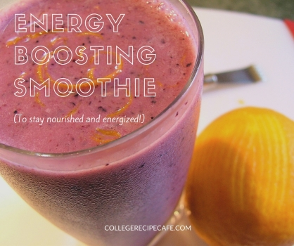 3 Ingredient Energizing Smoothie