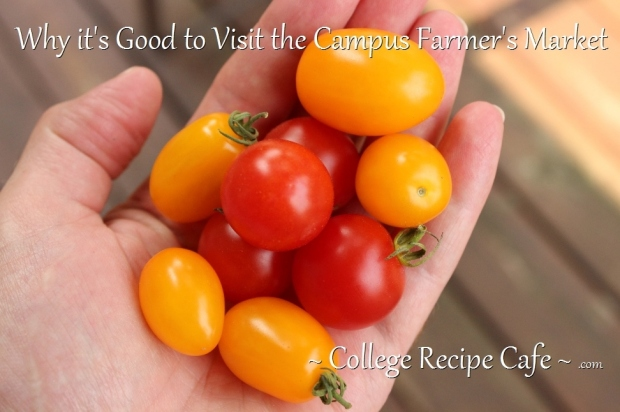3 Reason Why You Should Visit Your Campus Farmer's Market