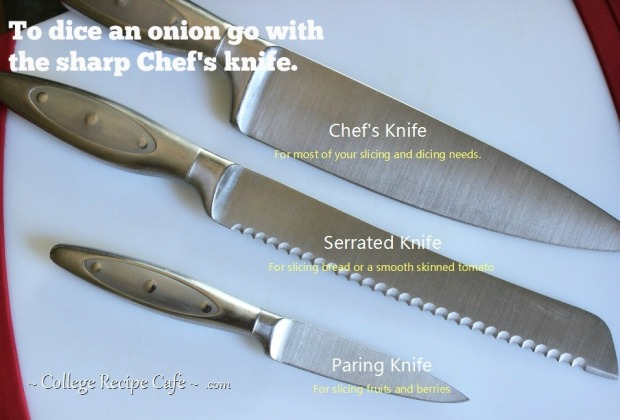 Choose the right knife for the job