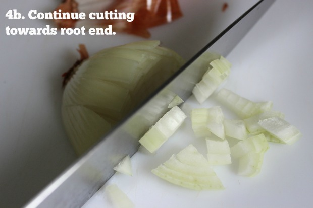 How to dice an onion quickly, safely and neatly.