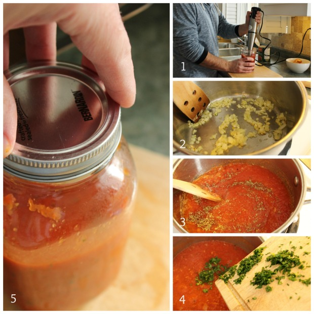 D.I.Y Marinara Sauce: Step by step pictures