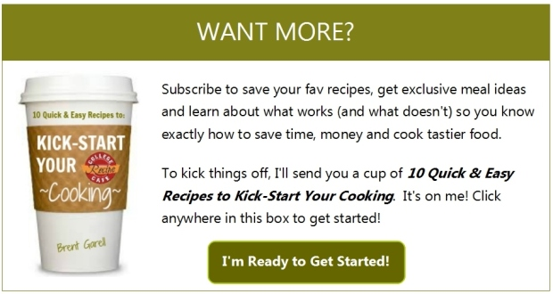 Want More? Subscribe to Receive College Recipe Cafe Updates