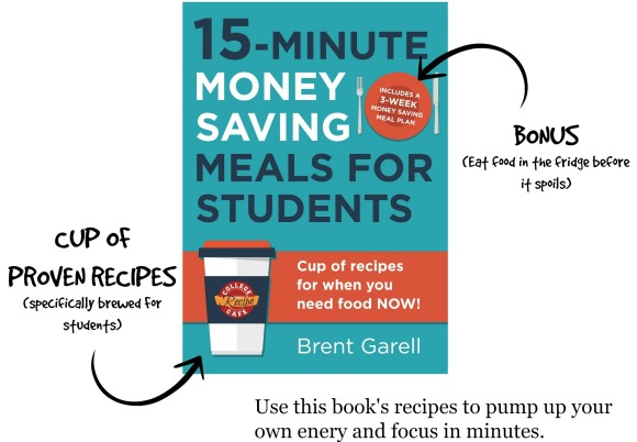 15-Minute Money Saving Meals for Students Cookbook