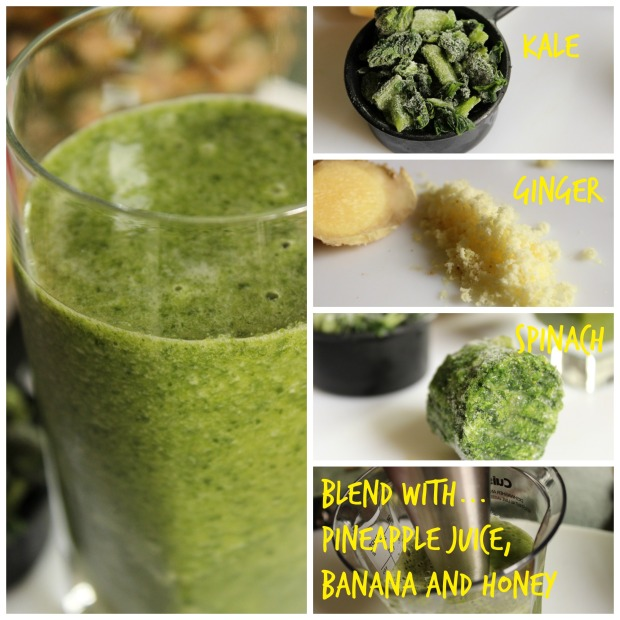 How to make Morning Superfood Smoothie from College Recipe Cafe