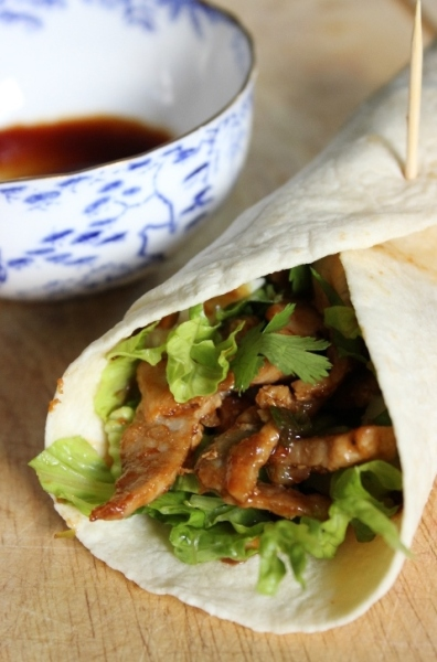 How to Make Hoisin-Glazed Pork Wraps #quickeats