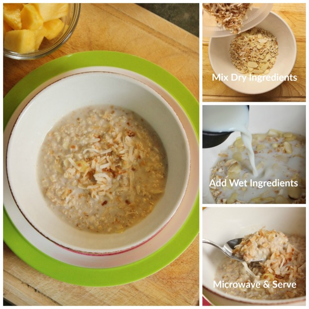 How to Make Toasted Coconut Oatmeal