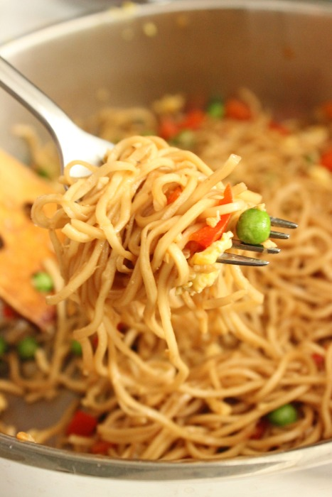 Homemade Chow Mein Noodles: College Recipe Cafe