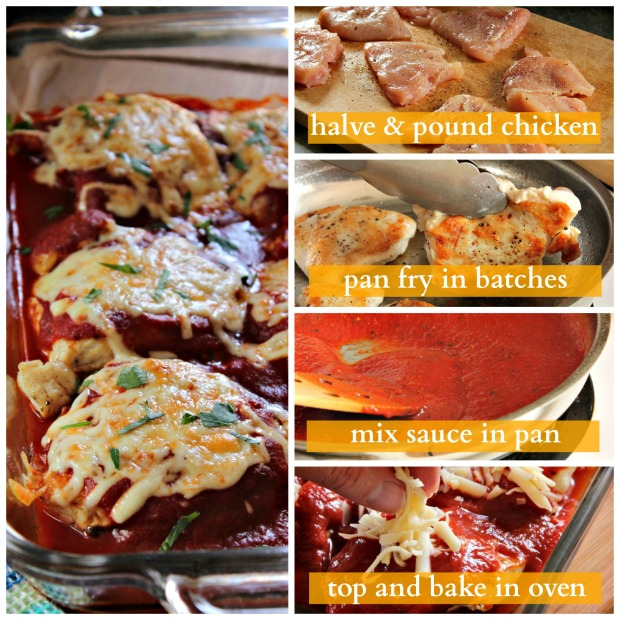How to Make: Naked Chicken Parmesan