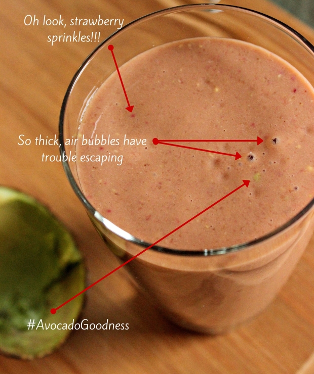 Guilt Free Chocolate Smoothie Disected