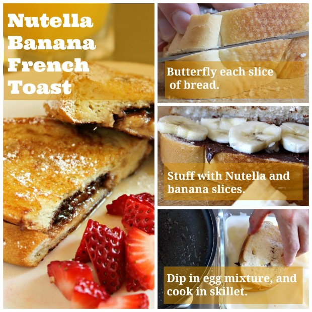 How to make Nutella Banana French Toast