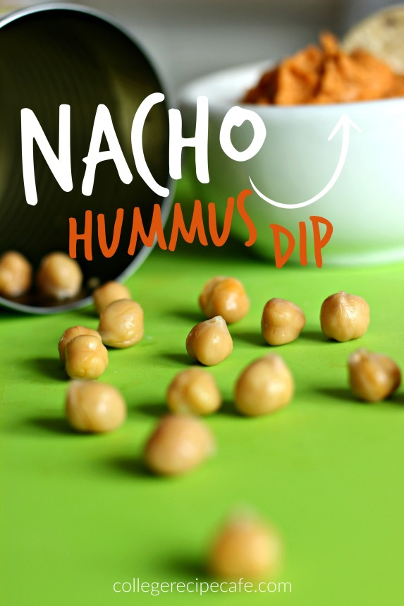 Easy to Make Nacho Hummus Dip | College Recipe Cafe