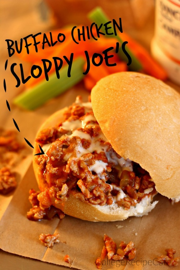 Buffalo Chicken Sloppy Joe's: Delicious One Pan Meal in Minutes!