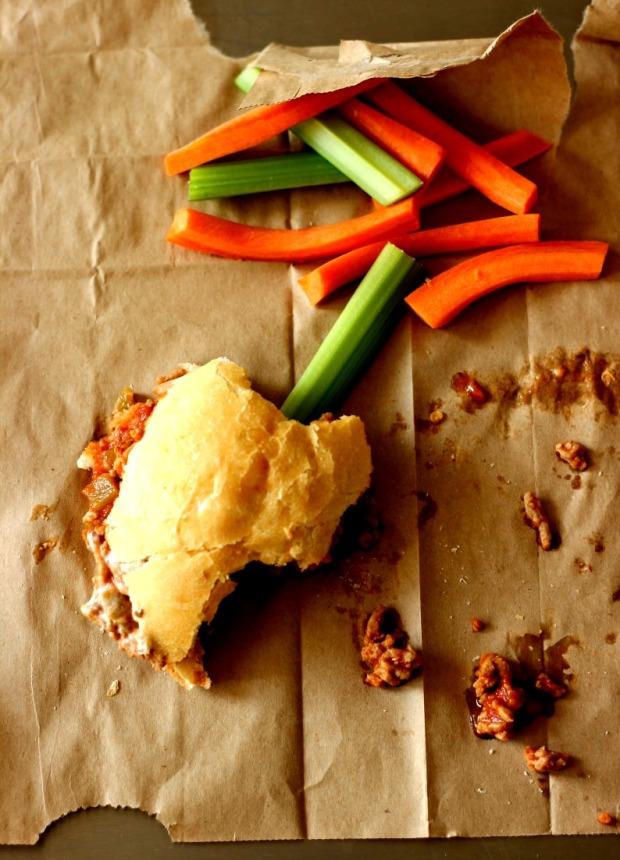 Buffalo Chicken Sloppy Joe's: One-Pan Meal in Minutes!