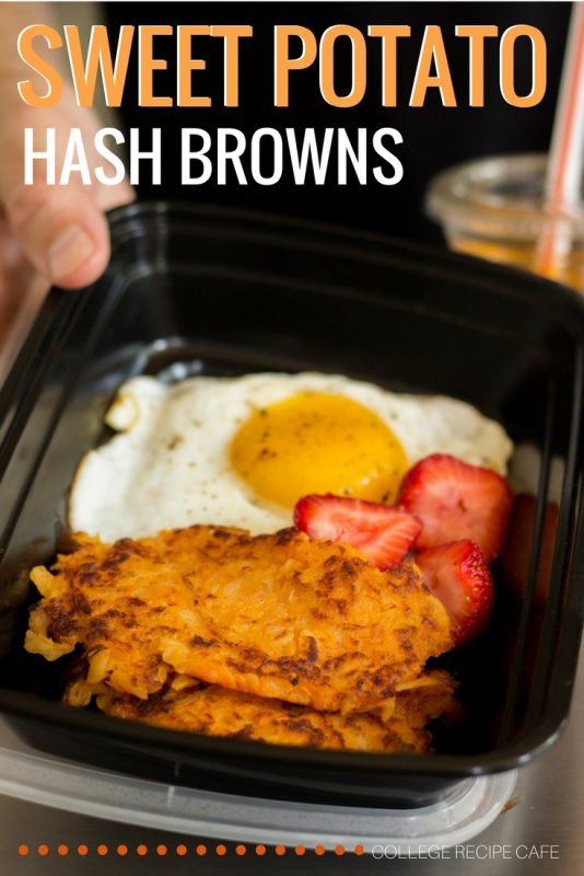 Healthy Sweet Potato Hash Browns